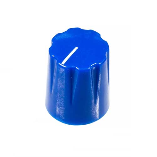 Small Pointer Knob, Blue