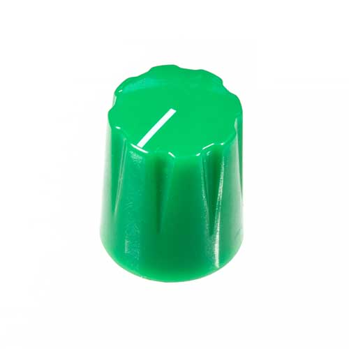 Small Pointer Knob, Green