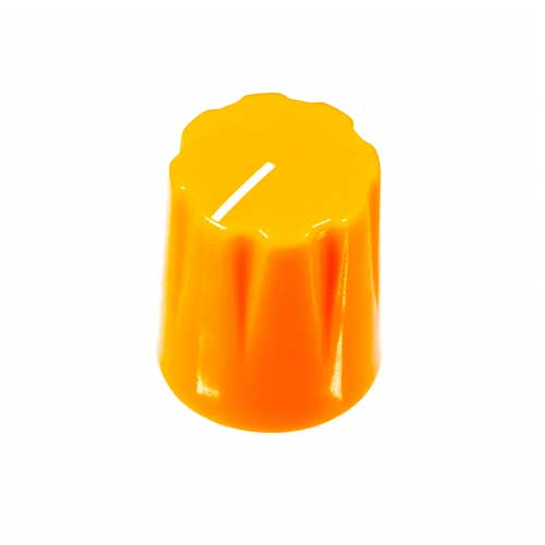Small Pointer Knob, Orange