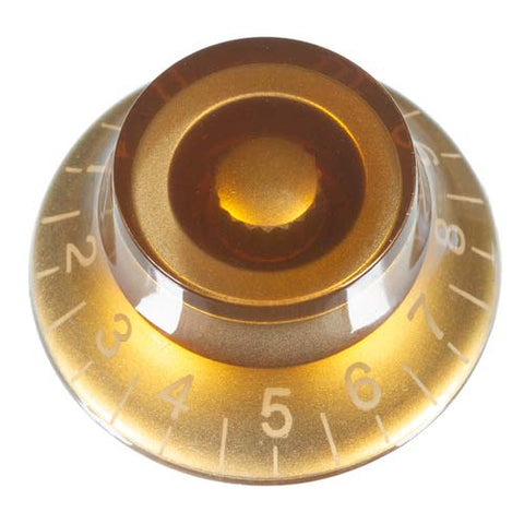 Top Hat Guitar Knob, Bronze