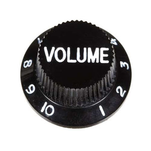 Guitar Volume Knob, Black
