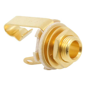 "1/4"" Switchcraft Mono TS Jack #11, Gold Plated"