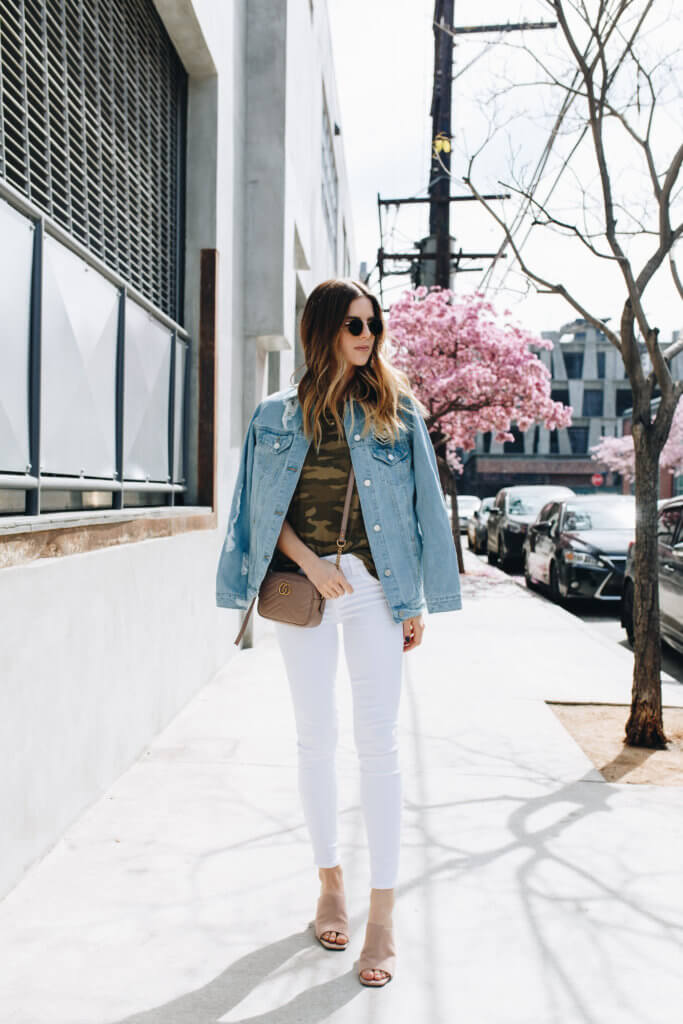 3 Ways To Wear White Denim Right Now