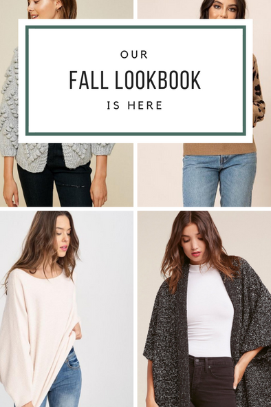 THE FALL LOOKBOOK HAS ARRIVED