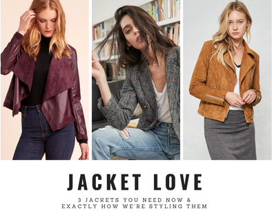 HOW WE'RE STYLING FALL'S BEST JACKETS
