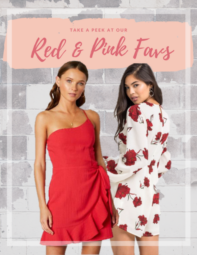 Our Red & Pink Favorites for February