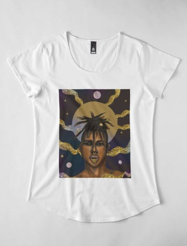 Afro Cosmos II - T-shirt Femme