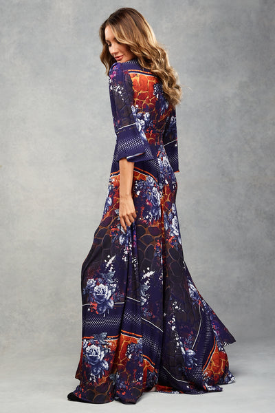 Autumn Maxi Indigo Safari