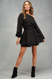 Black Aubree Mini Dress