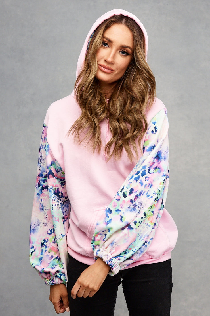 Candy Pink Tutti Fruity Hoodie