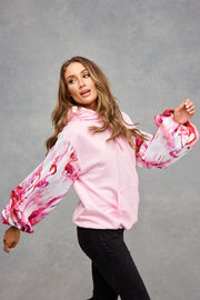Candy Pink Flamingo Fancy Hoodie