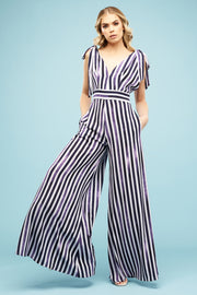 Teagan Trouser Suit Candy Blues