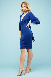 Charlie Multiway Midi Bold Blue