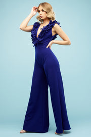 Eleanor Multiway Trouser suit Bold Blue