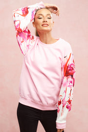 Candy Pink Flamingo Sweatshirt