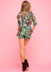 Jordan Playsuit Khaki Jungle