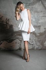 Juliette Midi Ice White