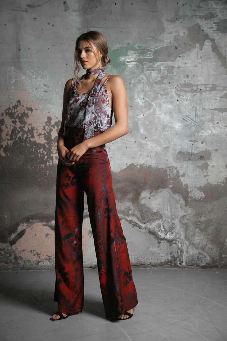 Angel Trousers Ruby Jungle