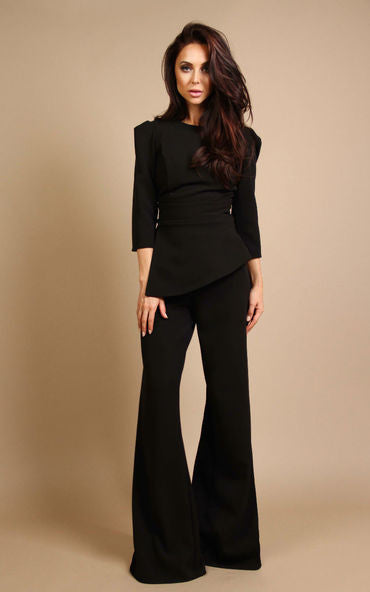 Angel Trousers Midnight Black