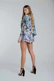 Kenzie Playsuit Ruby Rainforest Mix