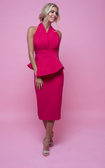 Piper Pencil Skirt Pink Lust