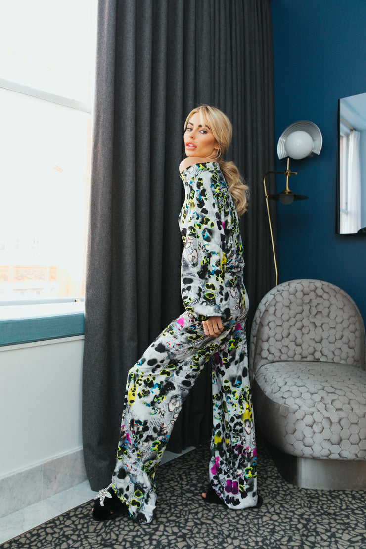 Neon News Laurie Lounge Trousers