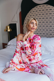Flamingo Fancy Hawaii Slouch