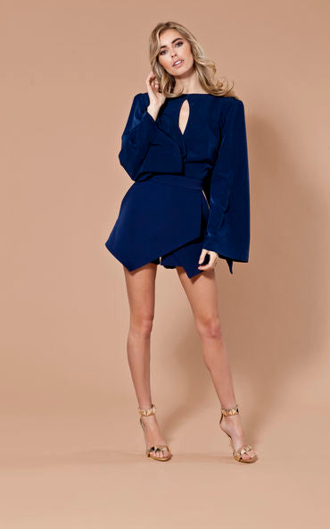 Polly Playsuit Navy Seals