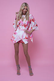 River Playsuit Flamingo Fancy