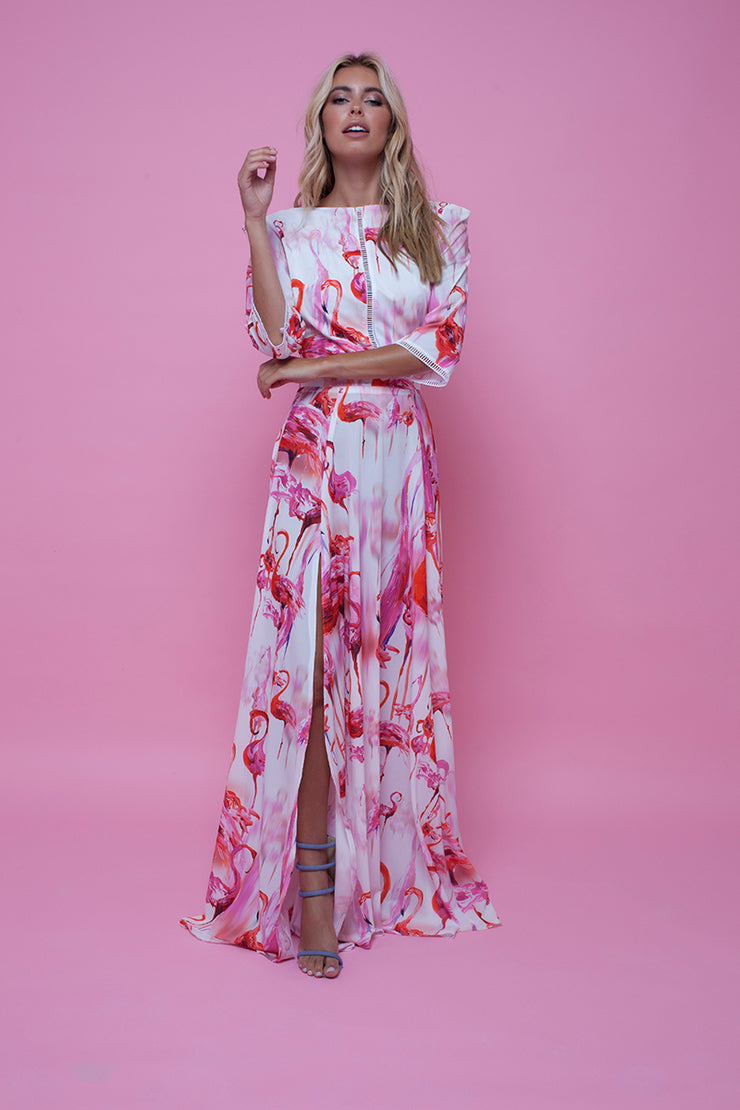 Thea Maxi Flamingo Fancy