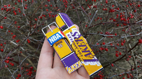 Los Angeles Lakers Watch Strap 22 mm