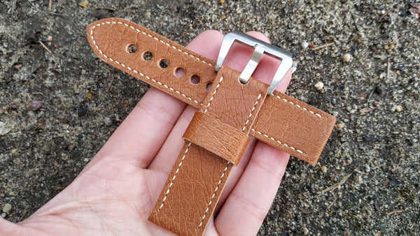 Ostrich Watch Strap 22 mm