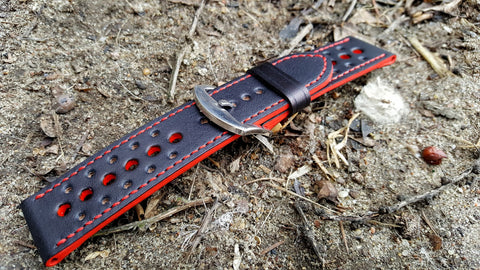 Black-Red Rally 24 mm