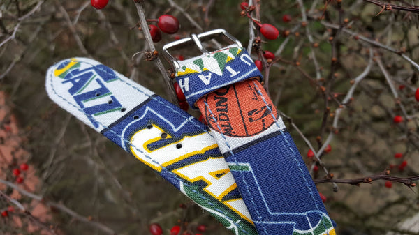 Utah Jazz Watch Strap 22 mm