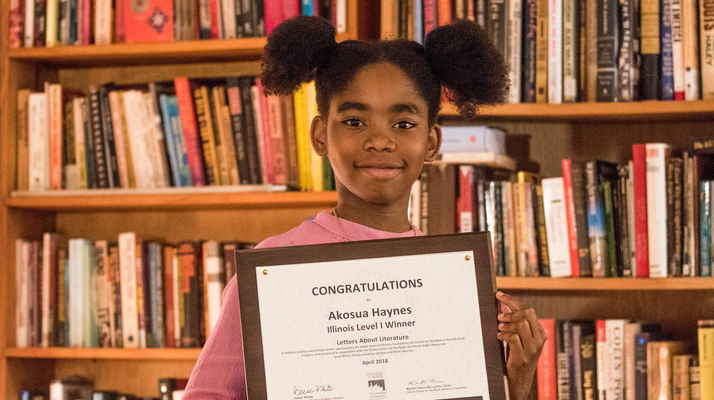10-Year-Old Wins Library Of Congress Award After Penning Letter To 'Hidden Figures' Author