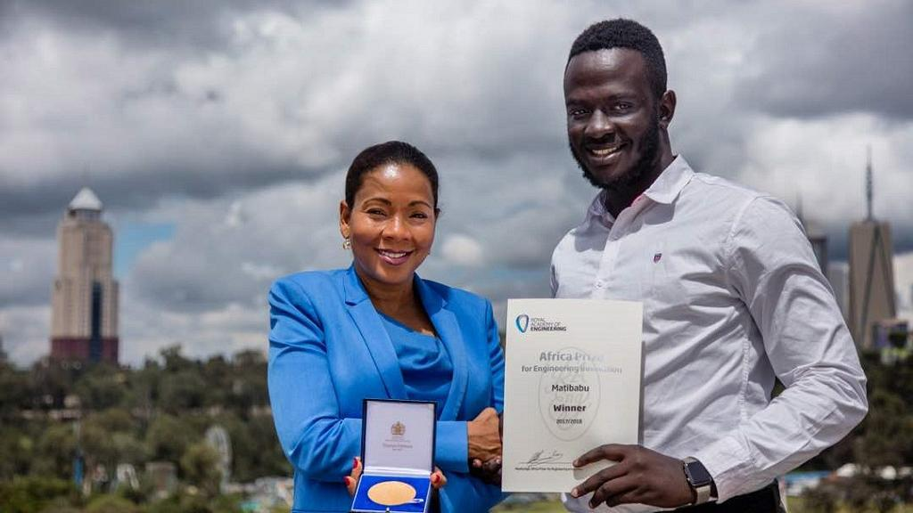 24-Year-Old Ugandan Wins Award For Inventing A Bloodless Malaria Test