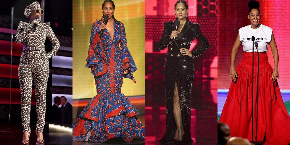 Here Are All The Black Designers Tracee Ellis Ross Intentionally Supported During The AMAs