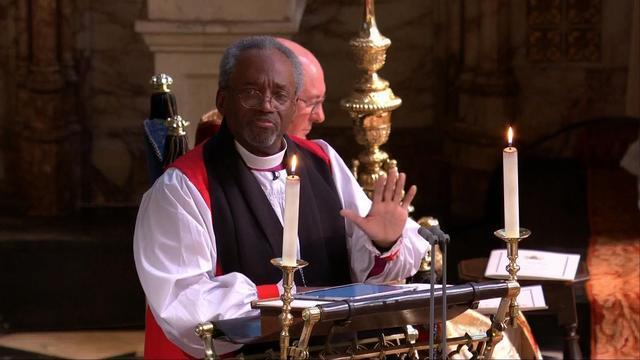 Watch Bishop Michael Curry Deliver Inspiring Royal Wedding Sermon About The 'Power of Love'