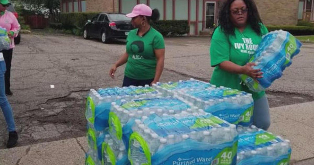 Alpha Kappa Alpha Chapter In Flint, Michigan Raises $20,000 To Help Combat The City's Ongoing Water Crisis