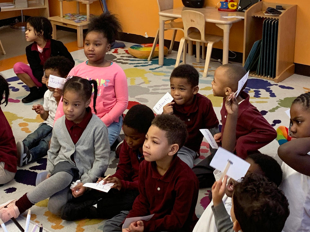 Video: Preschoolers Honor the Ancestors By Singing 'Lift Every Voice and Sing'