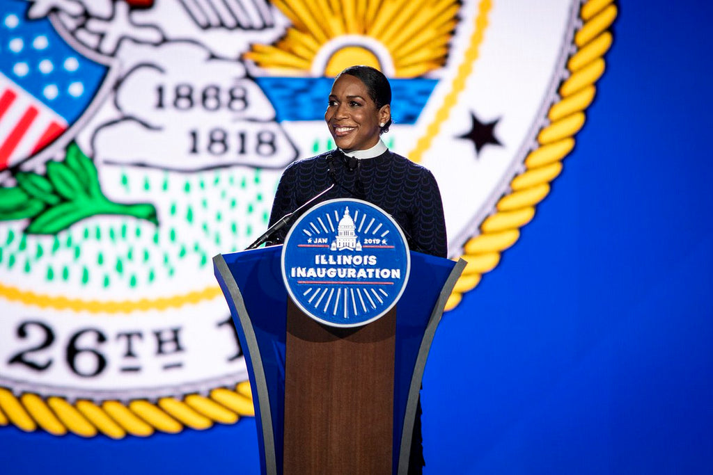 Juliana Stratton Gets Sworn in as Illinois' First Black Lieutenant Governor