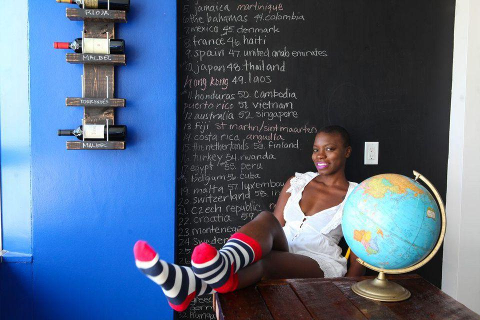 Jessica Nabongo is Aiming to be the First Black Woman to Visit Every Country