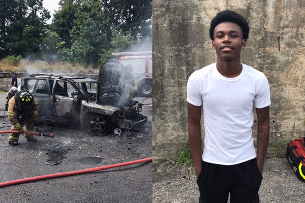Heroic Connecticut Teen Rescues Mother and Three Children From A Burning Car