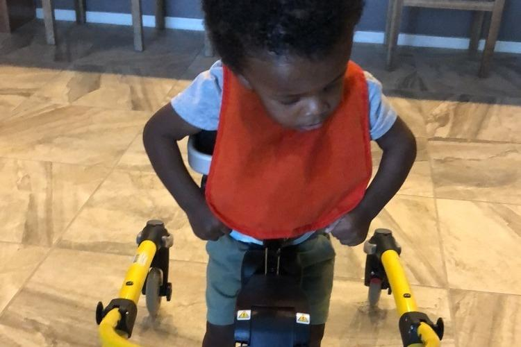 Priceless: Watch This Toddler With Hydrocephalus Take His First Steps