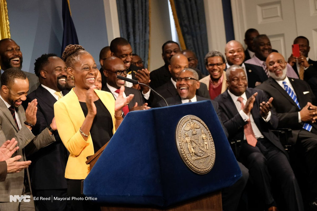 NYC First Lady Chirlane McCray Launches Mental Health Initiative For Black Men