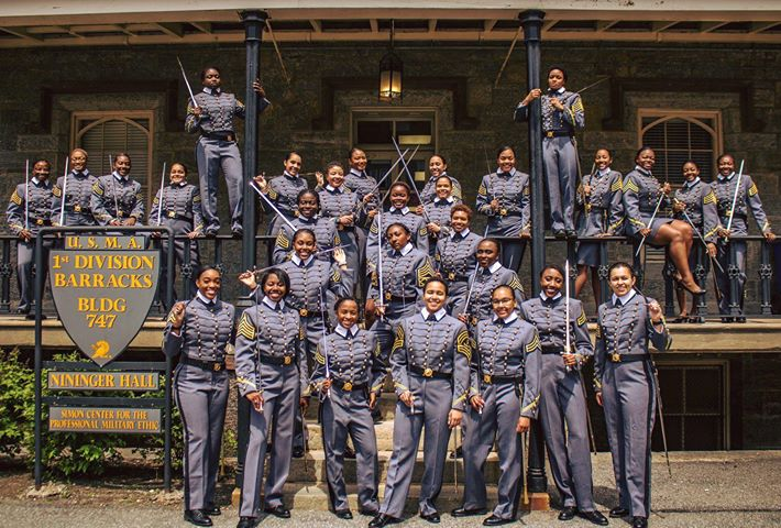 This is the Largest Class of Black Women to Graduate from West Point