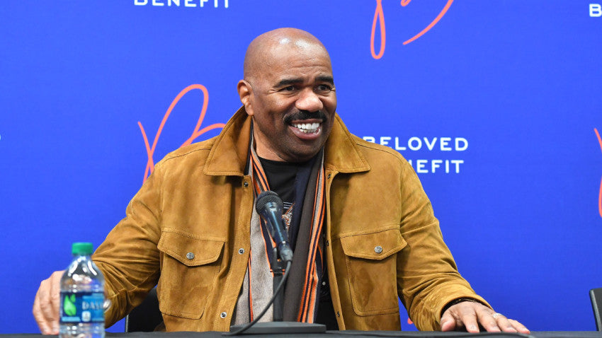 Steve Harvey Hosting Virtual Mentoring Sessions For Young Men Dealing With The Stress of COVID-19