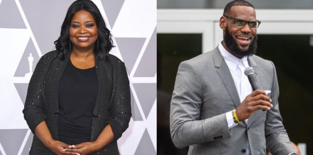 Octavia Spencer Reveals LeBron James Helped her to Negotiate the Pay She Deserves for Their Upcoming Netflix Series
