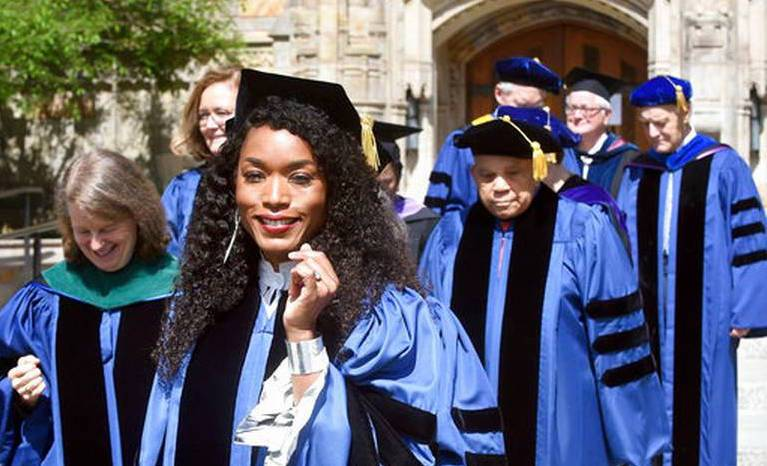 Angela Bassett Receives Honorary Degree From Alma Mater Yale University