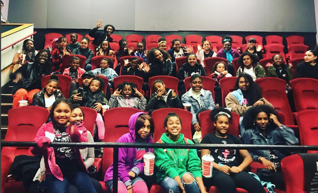 Serena Williams Surprises Girls From 'Black Girls Code' With Private 'Black Panther' Screening